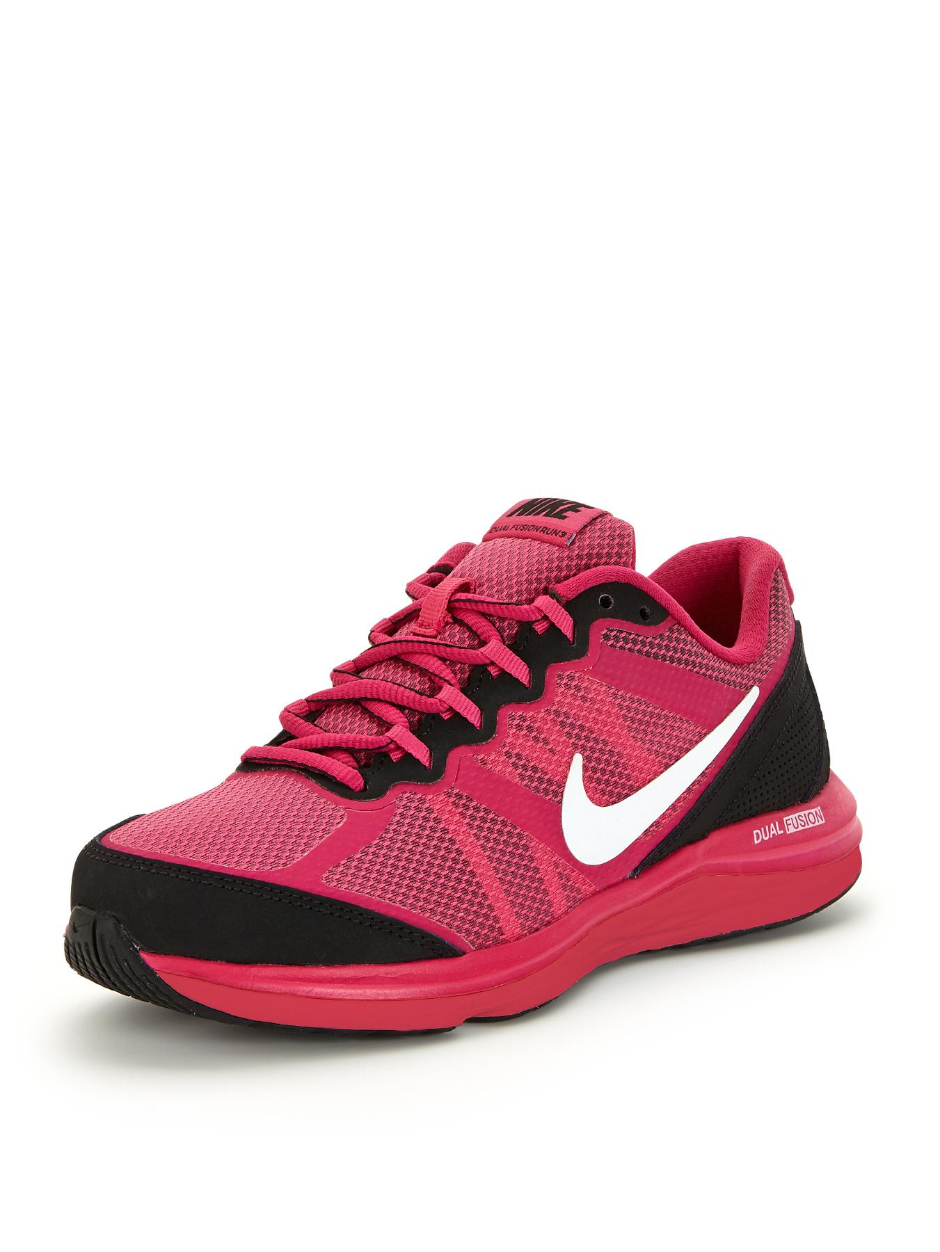 Nike Kids Fusion Run 3 Junior Trainers - Pink, Pink