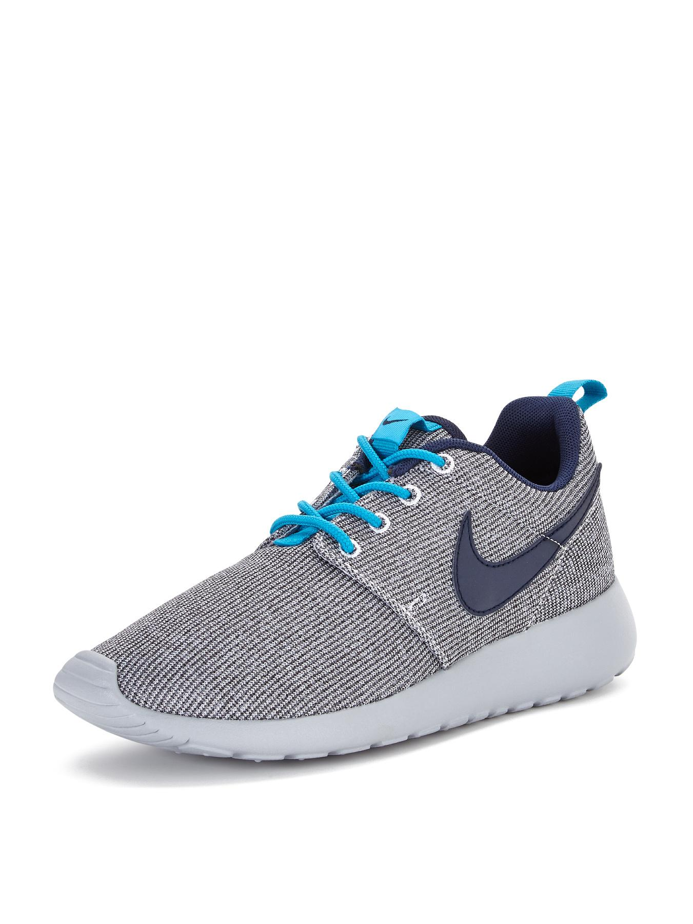 Nike Rosherun Junior Trainers - Grey, Grey