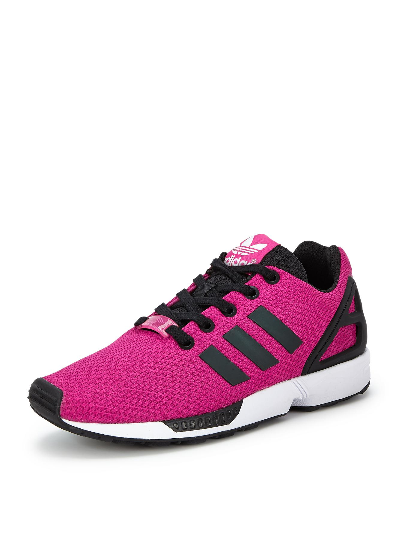 adidas Originals ZX Flux Junior Girls Trainers - Pink, Pink