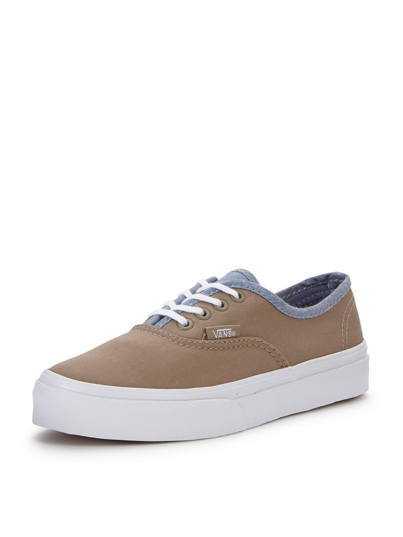 Vans Authentic Junior Plimsolls - Khaki, Khaki