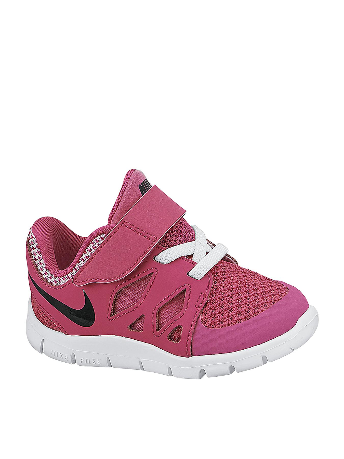 Nike FREE 5 Toddler Trainers - Pink, Pink