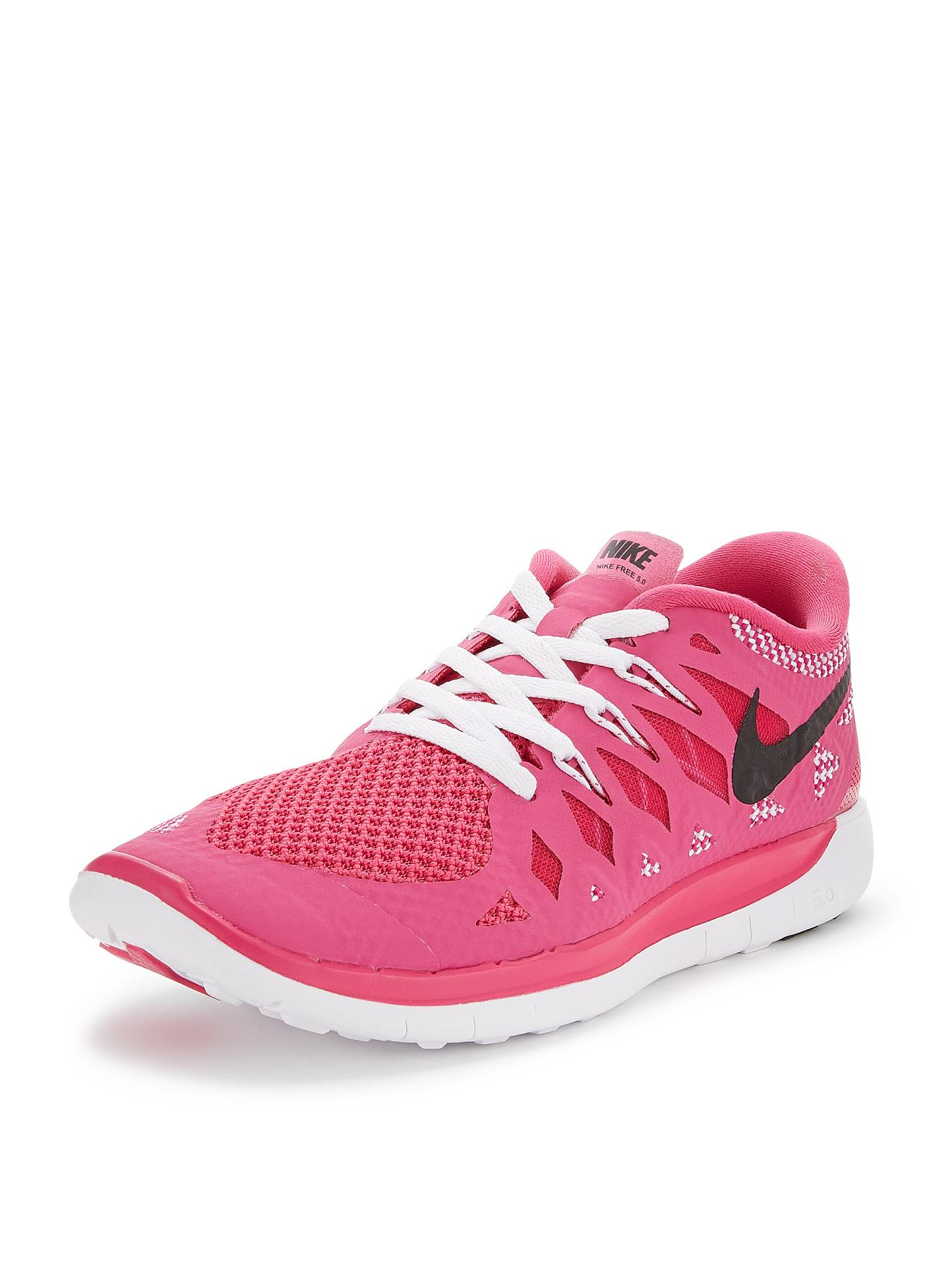 Nike Free 5.0 Junior Trainers - Pink, Pink