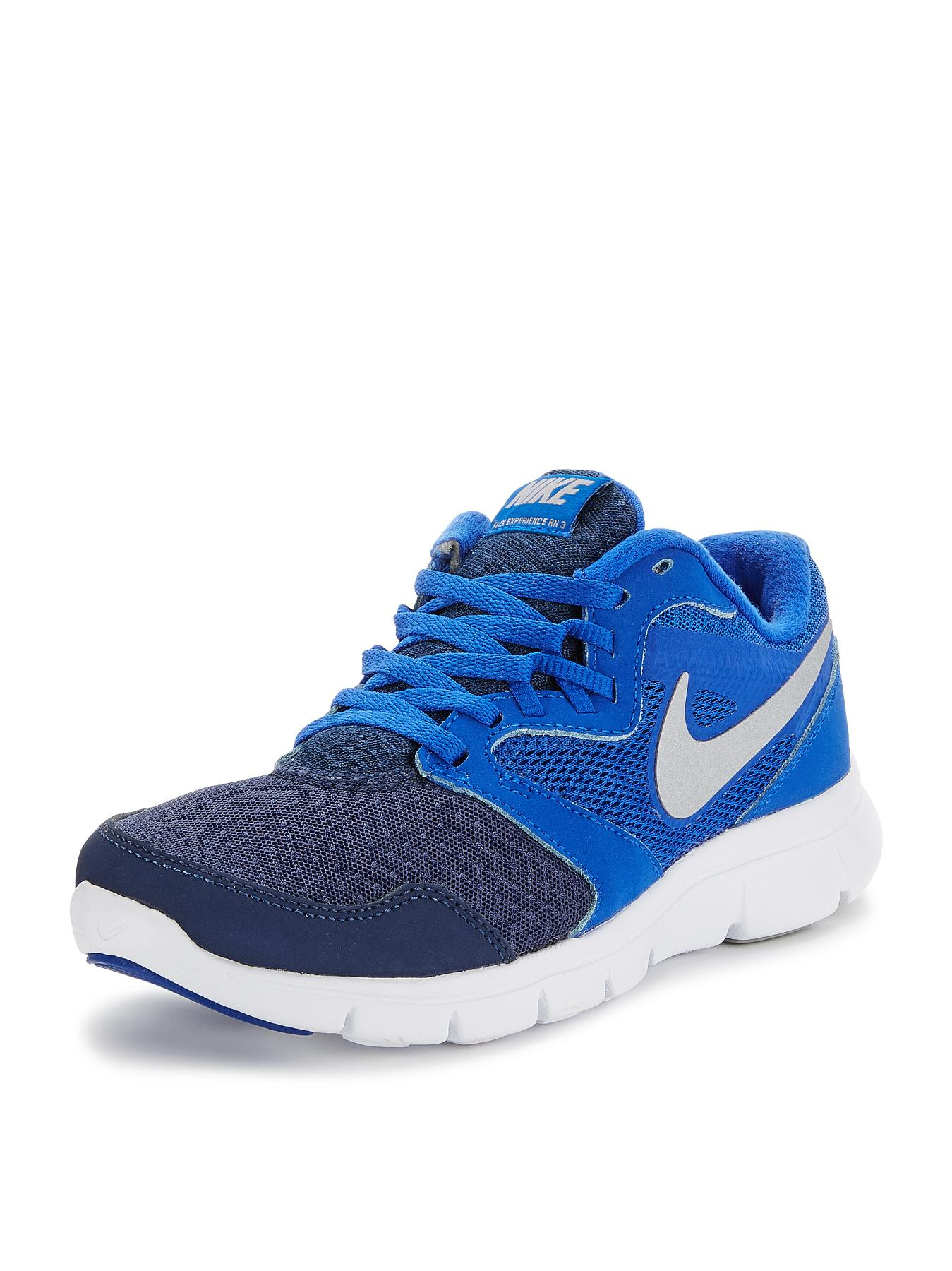 Nike Flex Experience 3 Junior Trainers - Blue, Blue