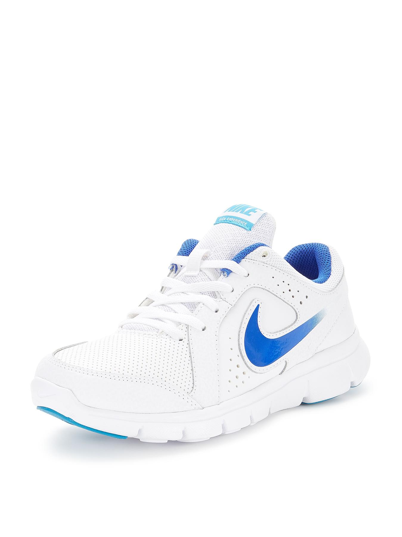 Nike Flex Experience LTR Junior Trainers - White, White