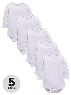 ladybird-baby-unisex-long-sleeved-sleepsuits-5-pack