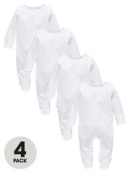 ladybird-baby-unisex-long-sleeve-sleepsuits-4-pack