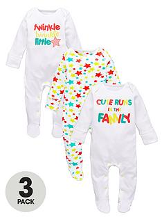 Shop baby sleepsuits online at Matalan & discover a range of colours, prints, sizes & multi packs. Free Click & Collect.