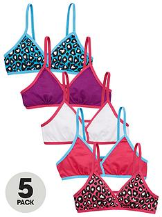 freespirit-girls-bright-animal-starter-bras-5-pack