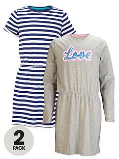 freespirit-girls-everyday-essentials-long-and-short-sleeve-dresses-2-pack