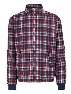 ben-sherman-check-harrington-jacket