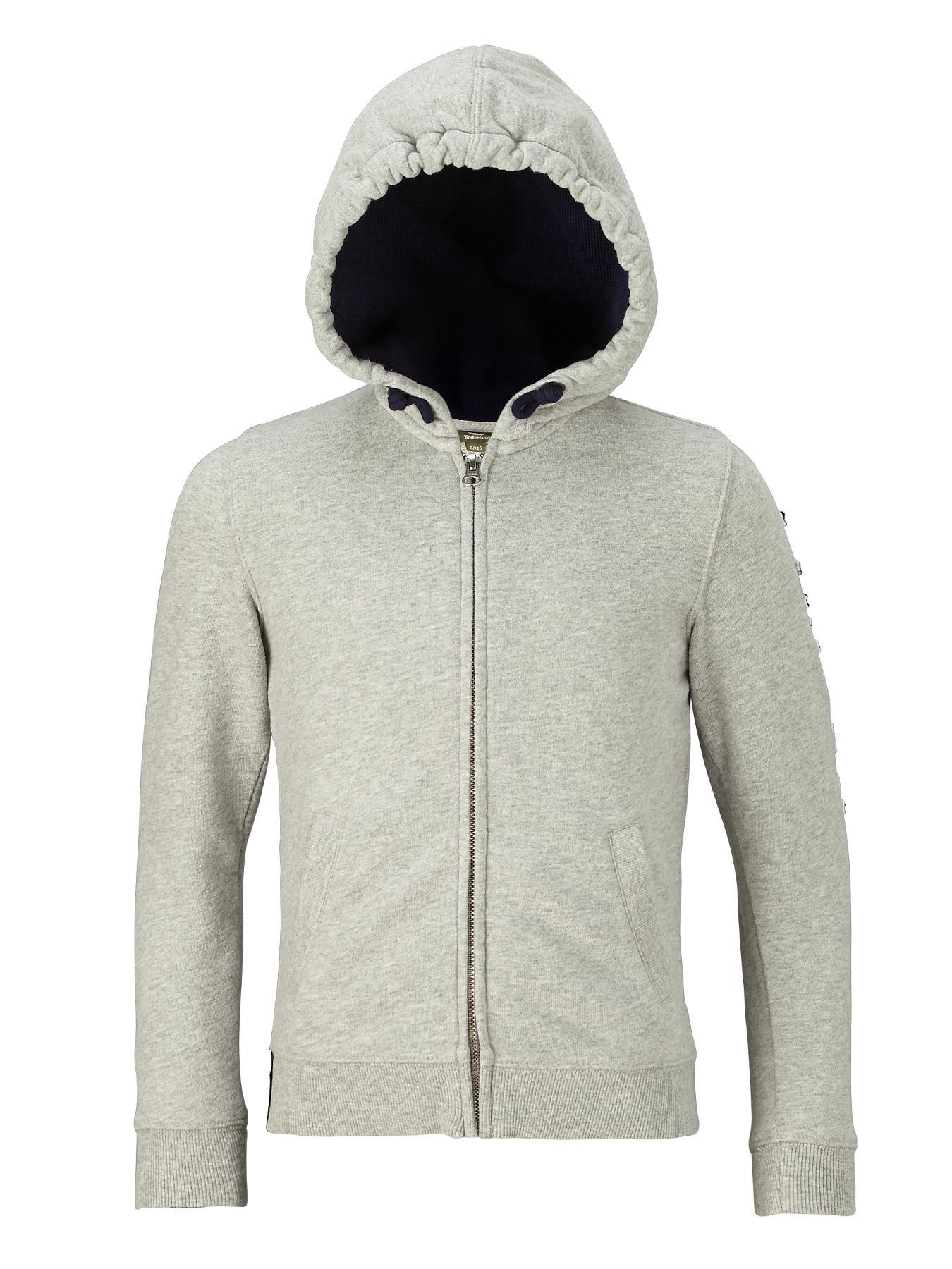 Timberland Zip Thru Hoody - Grey, Grey