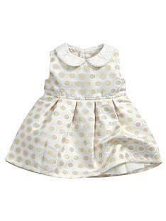 mamas-papas-jacquard-spot-dress