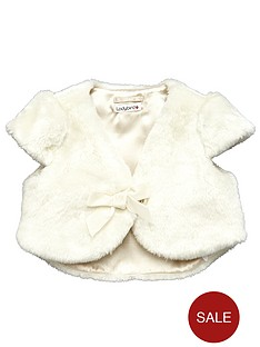 ladybird-girls-faux-fur-shrug
