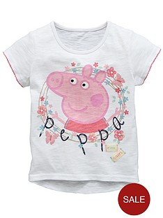 peppa-pig-girls-t-shirt-with-peppa-and-flowers