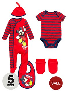 mickey-mouse-layette-set