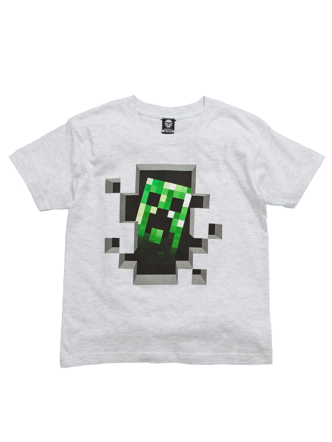 Minecraft T-shirt - Grey, Grey