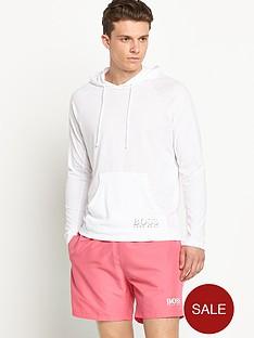 hugo-boss-mens-single-jersey-hooded-top-white