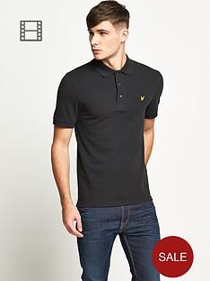 lyle-scott-mens-plain-pique-polo-shirt