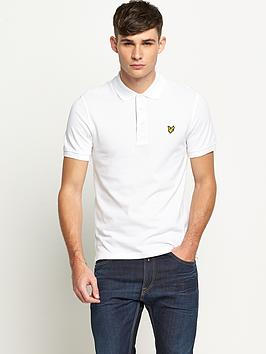 lyle-scott-mens-plain-pique-polo-shirt