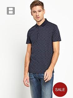 ben-sherman-mens-geo-print-polo-shirt