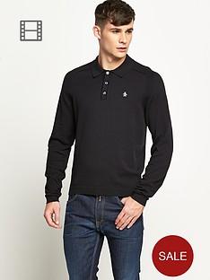 original-penguin-mens-long-sleeved-knitted-polo-shirt