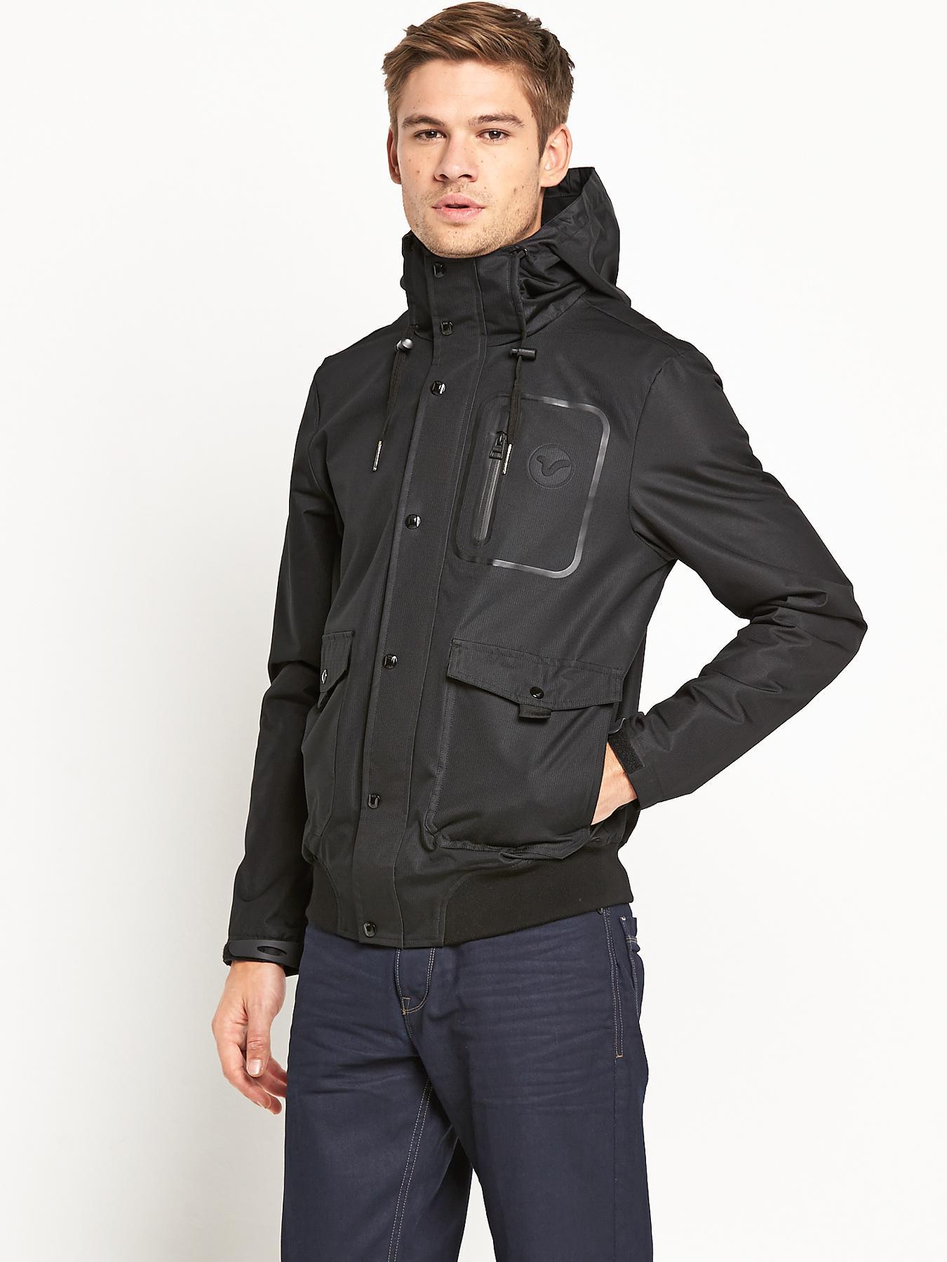 Voi Jeans Mens Climate Jacket - Black, Black