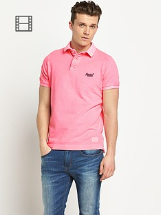 superdry-mens-vintage-destroyed-roundal-hit-polo-shirt-pink