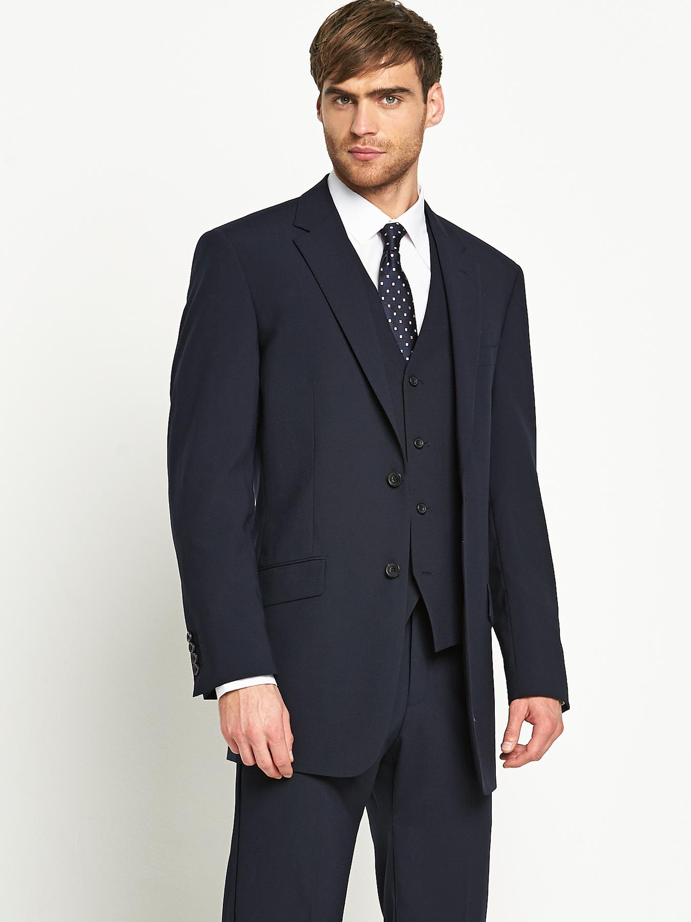 Skopes Mens Oslo Suit Jacket - New Navy - Navy, Navy