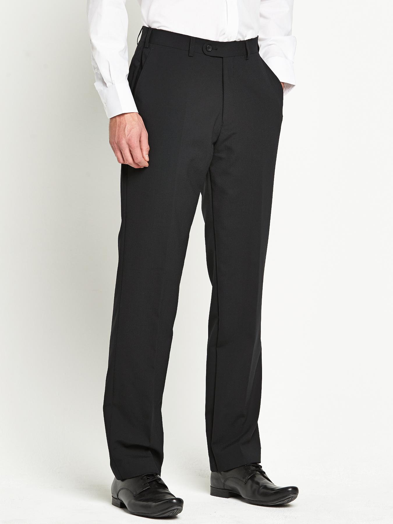 Skopes Mens Ohio Suit Trousers - Black - Black, Black