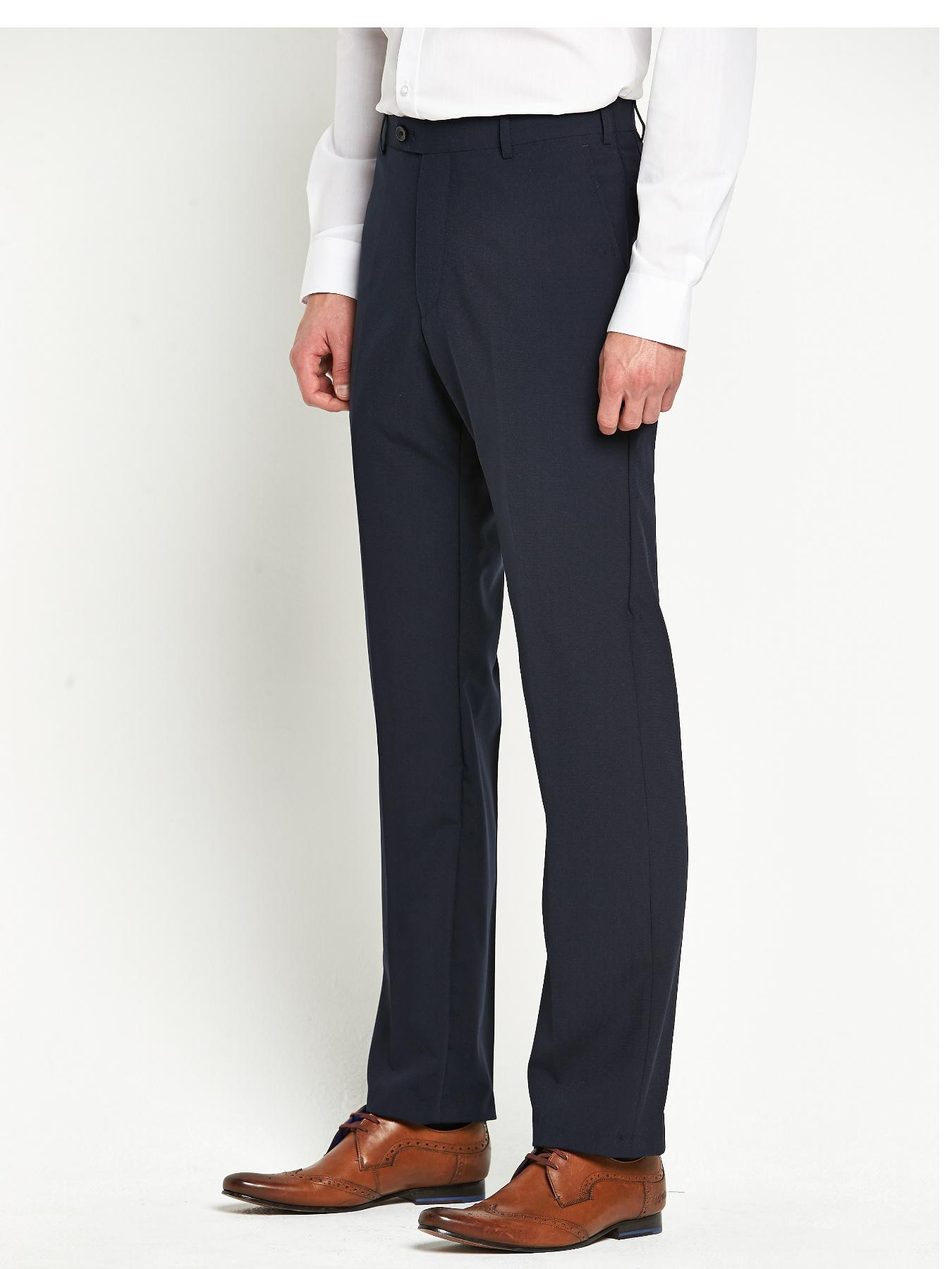 Skopes Mens Ohio Suit Trousers - New Navy - Navy, Navy