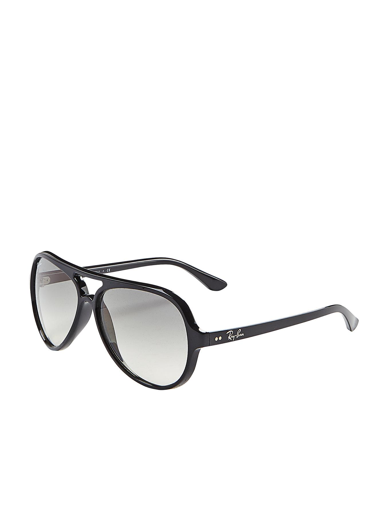 Ray-Ban Cats 5000 Aviator Sunglasses - Black - Black, Black