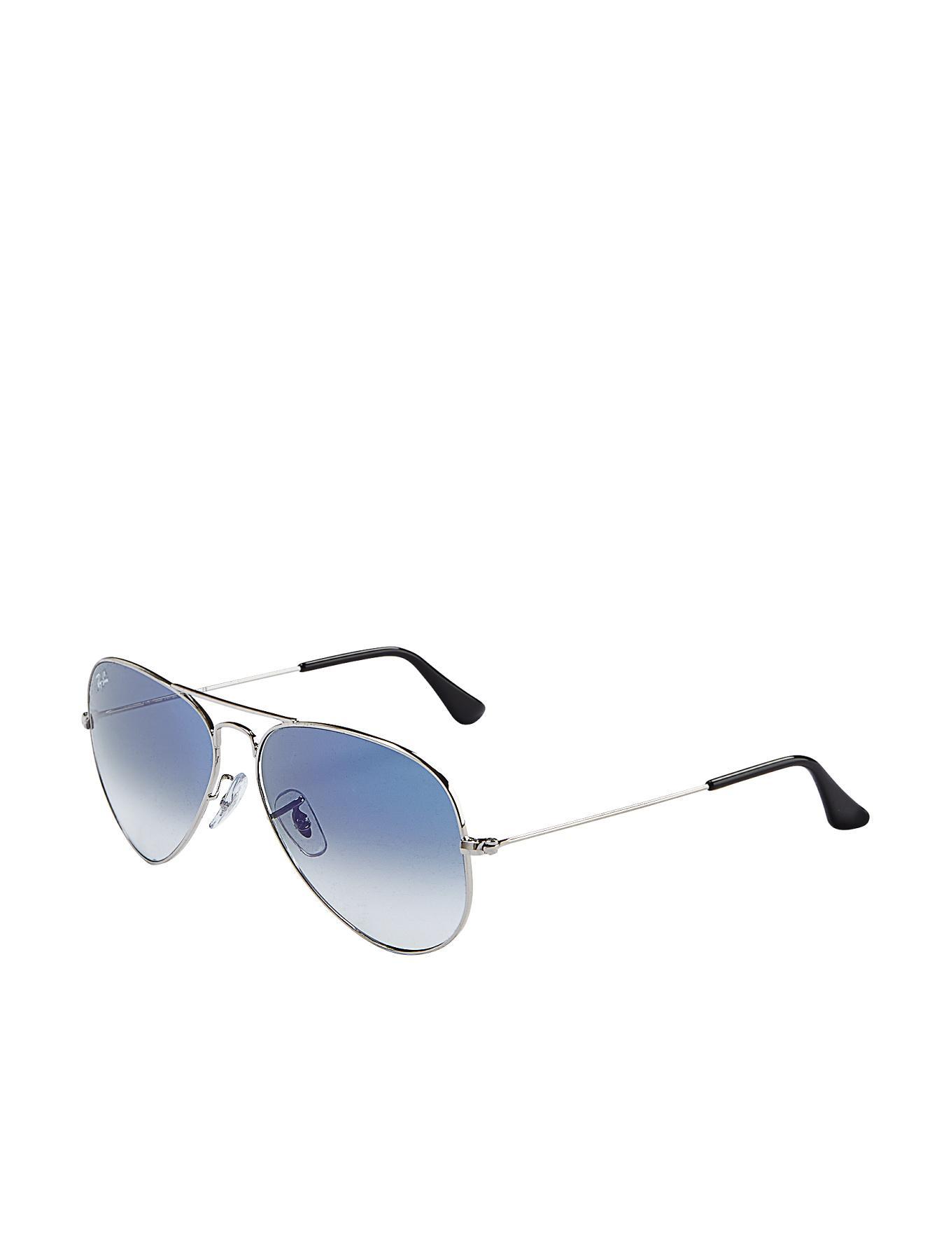 Ray-Ban Aviator Sunglasses - Silver - Silver, Silver