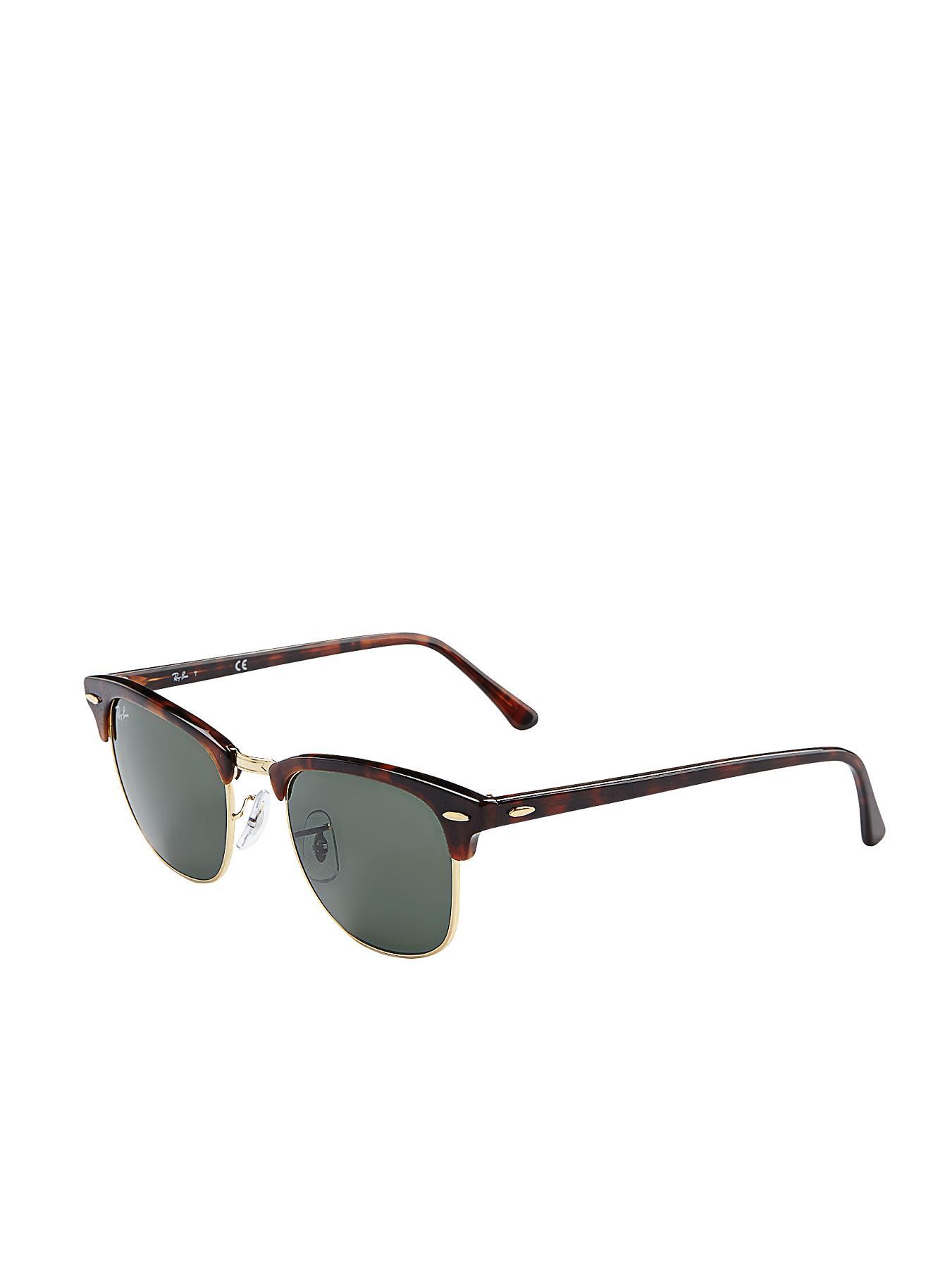 Ray-Ban Clubmaster Sunglasses - Tortoiseshell