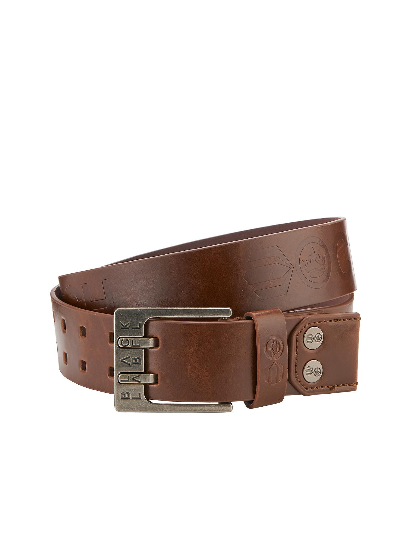 Crosshatch Mens Belt - Tan, Tan