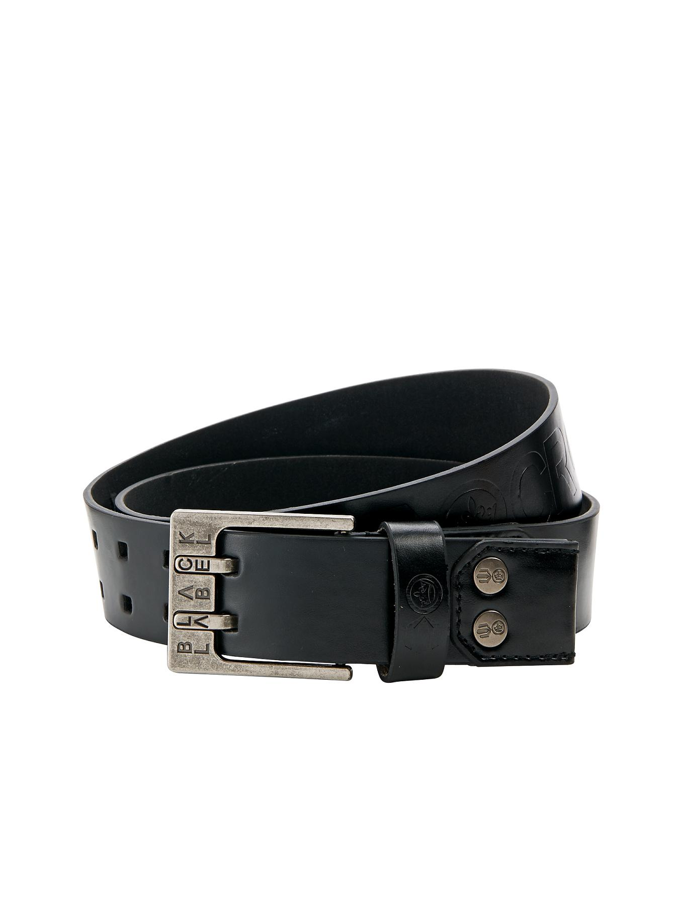 Crosshatch Mens Belt - Black, Black