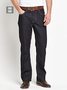 goodsouls-mens-belted-straight-fit-indigo-jeans