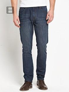 goodsouls-mens-slim-fit-dark-vintage-wash-jeans