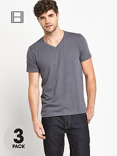 goodsouls-mens-short-sleeved-v-neck-t-shirts-3-pack