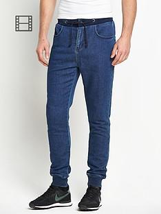 goodsouls-mens-fashion-vintage-wash-denim-jogger-jeans