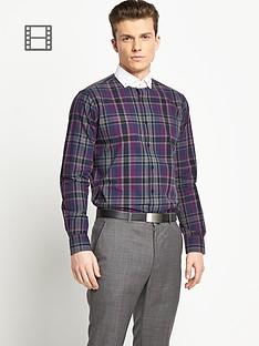 taylor-reece-mens-dark-check-shirt-contrast-collar