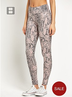 pineapple-snake-leggings