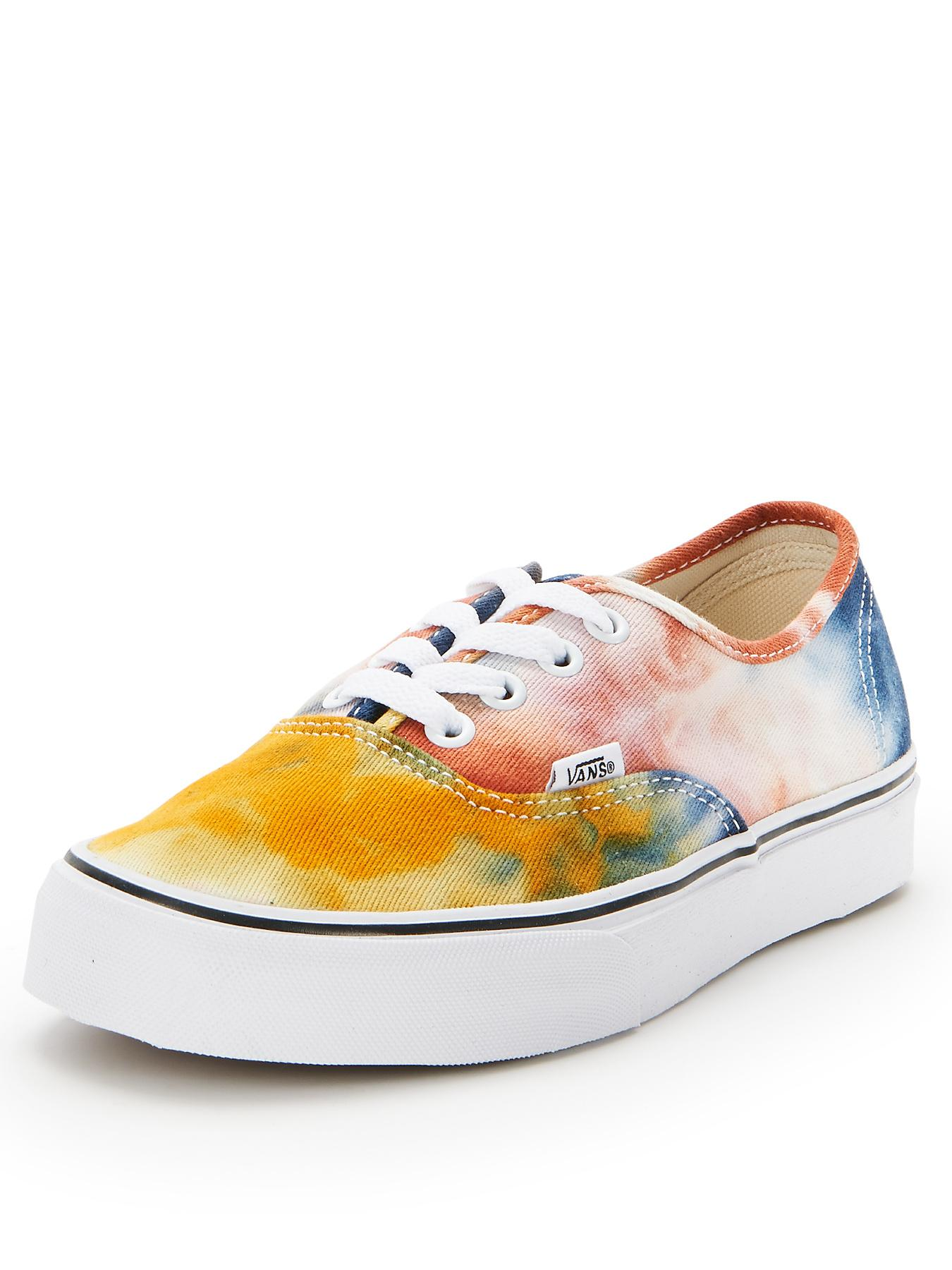 Vans Authentic Tie Dye Trainers - Navy, Navy