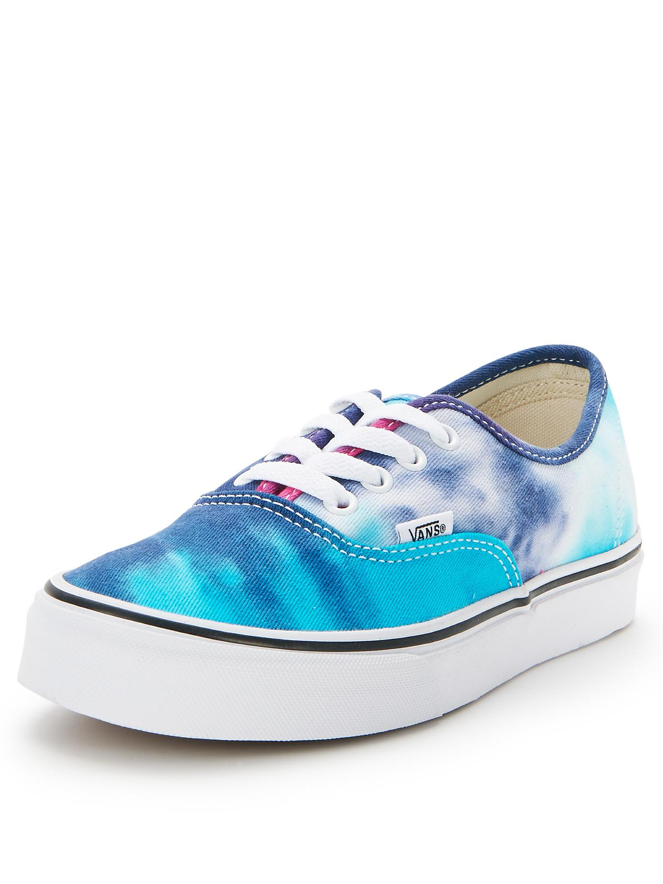Vans Authentic Tie Dye Trainers - Pink, Pink