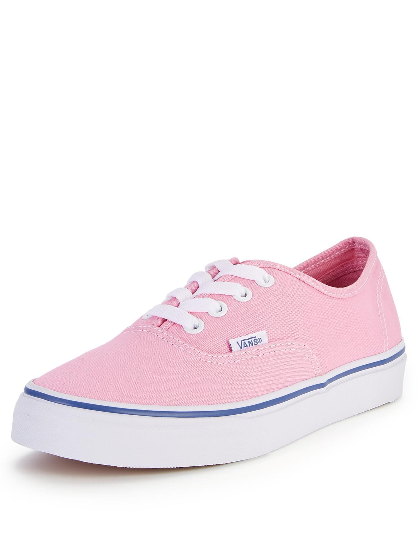 Vans Authentic Plimsolls - Pink, Pink