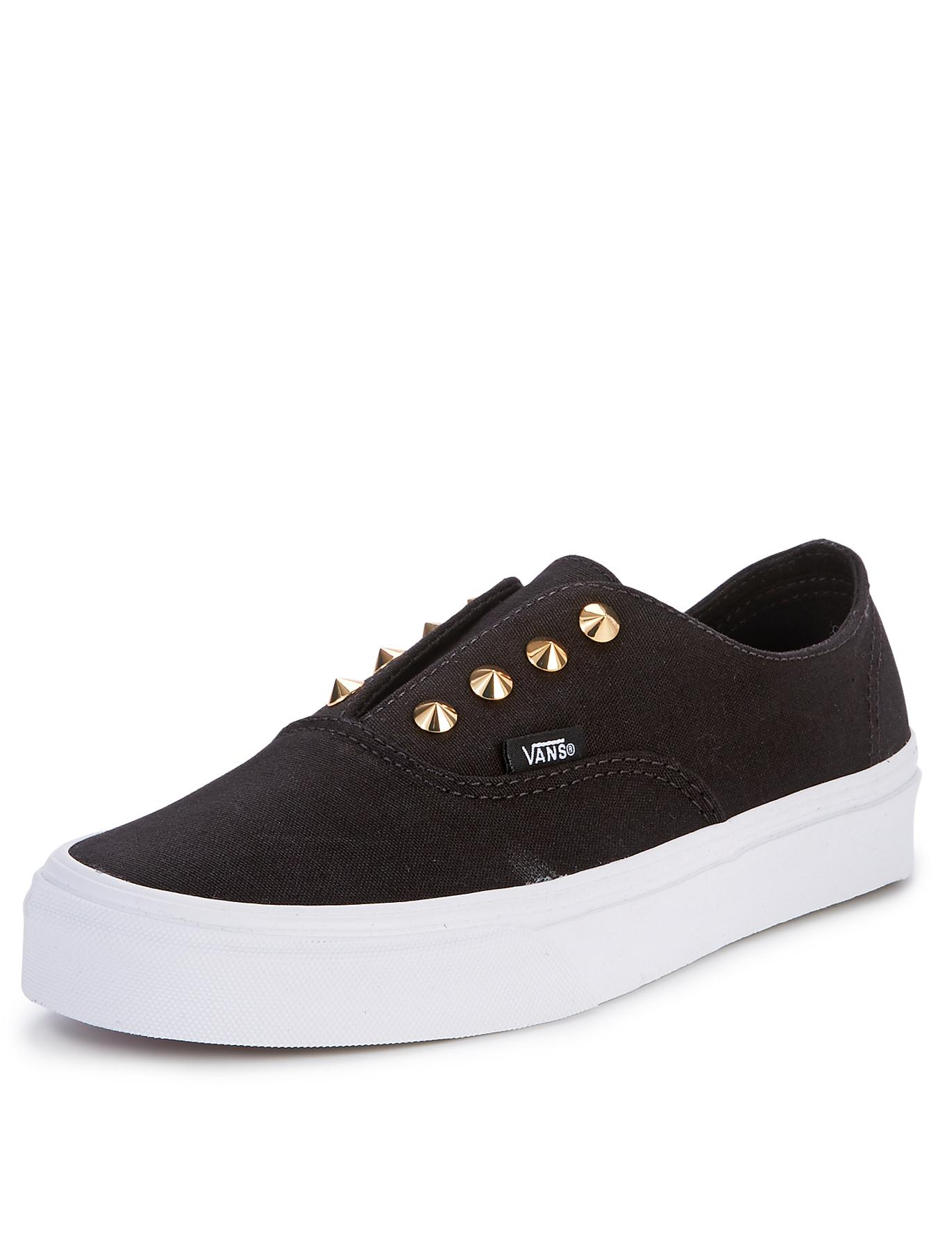 Vans Authentic Studs Trainers - Black, Black