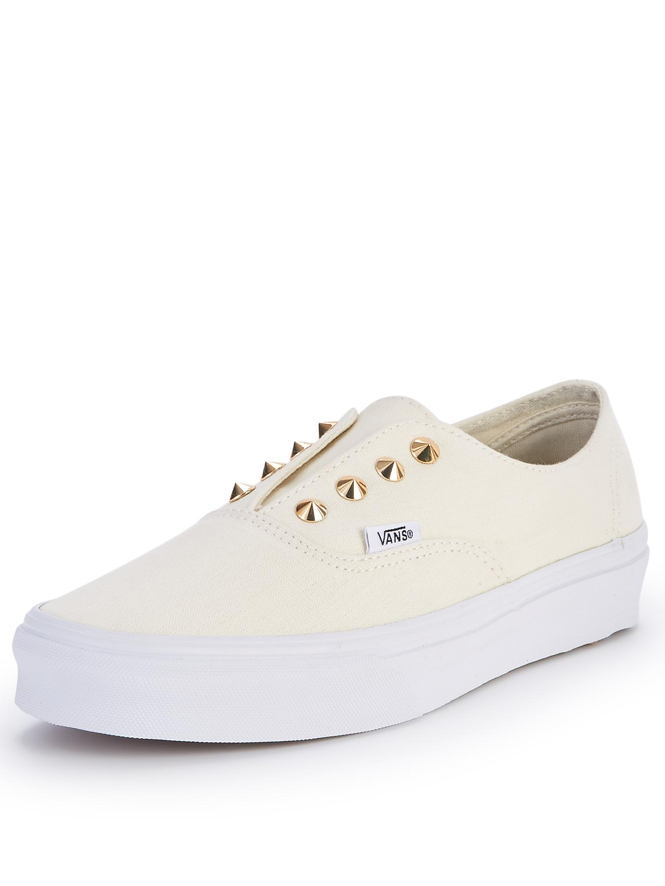 Vans Authentic Studs Trainers - White, White