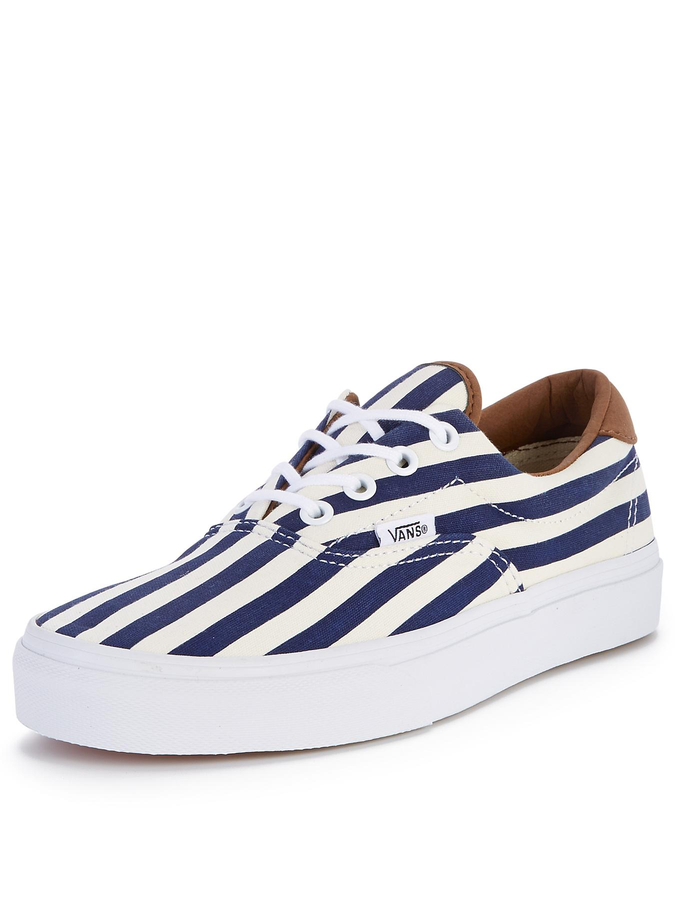 Vans Era 59 Stripes Plimsolls - Blue, Blue