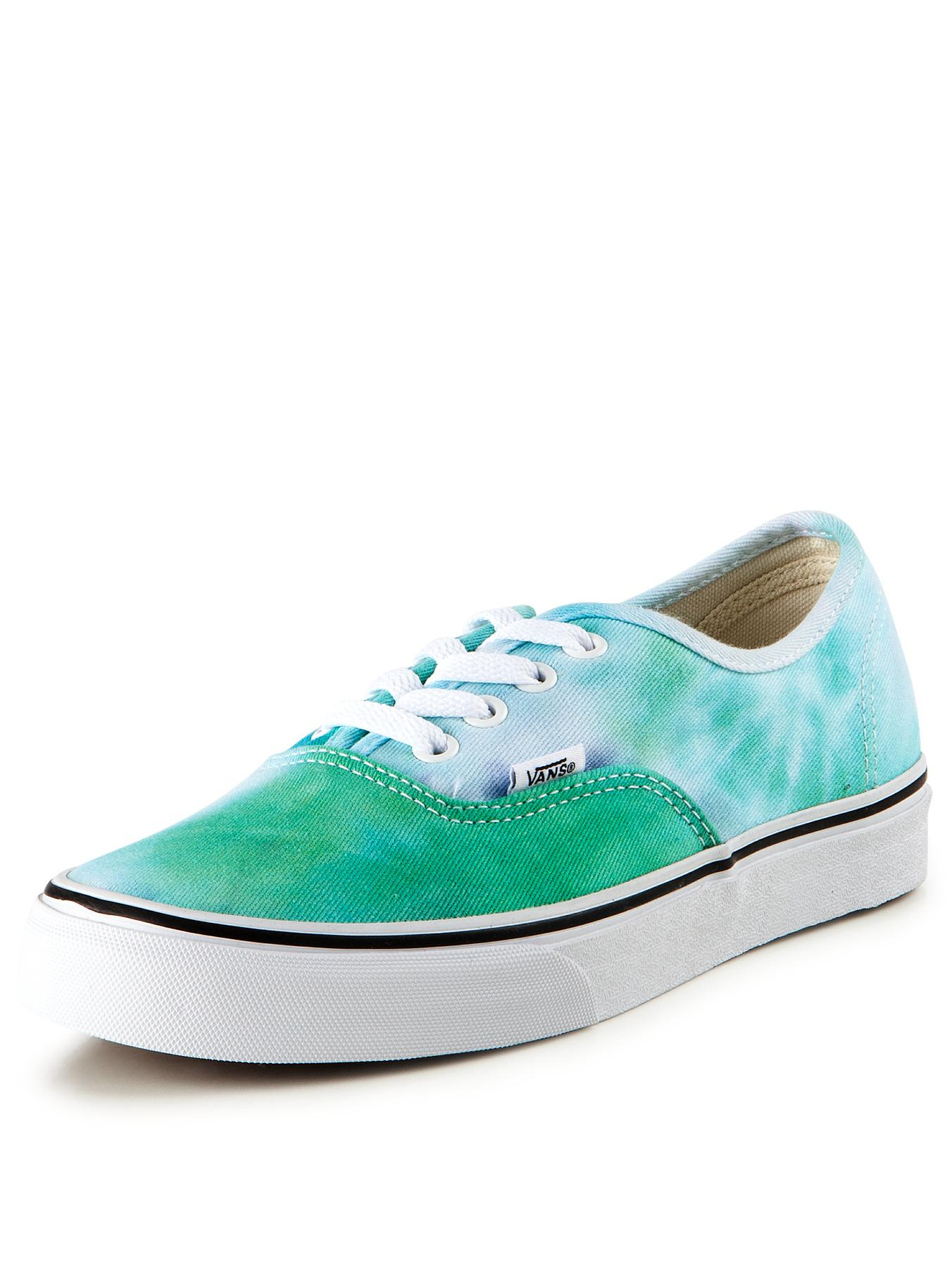 Vans Authentic Tie Dye Plimsolls - Navy, Navy