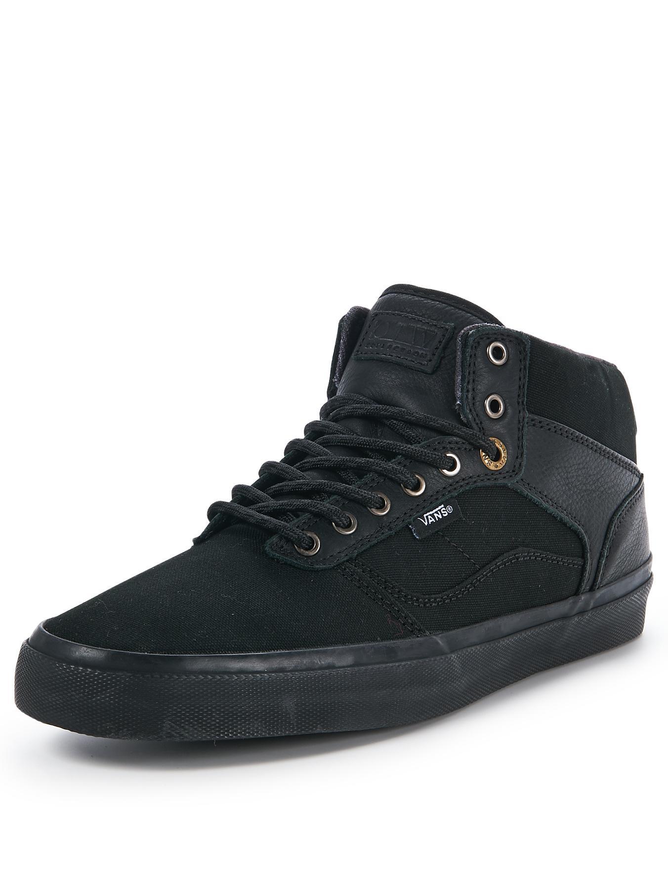 Vans Mens Bedford Skate Trainers - Black, Black