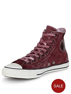 converse-chuck-taylor-all-star-washed-hi-trainers-burgundy